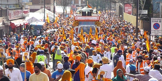 Southall Nagar Kirtan - 25 March 2012