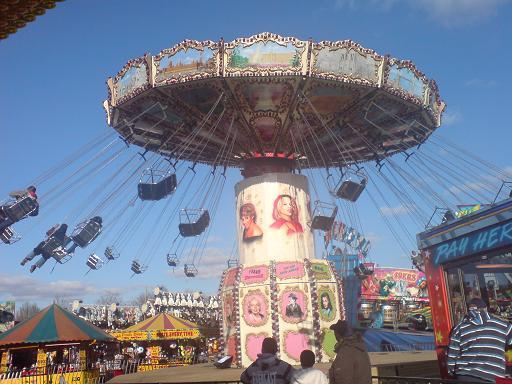 Description of a fun fair