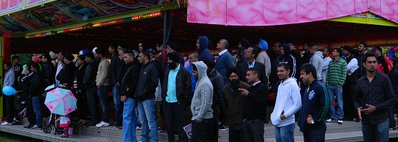 Queen's Diamond Jubilee celebrations in Southall Park