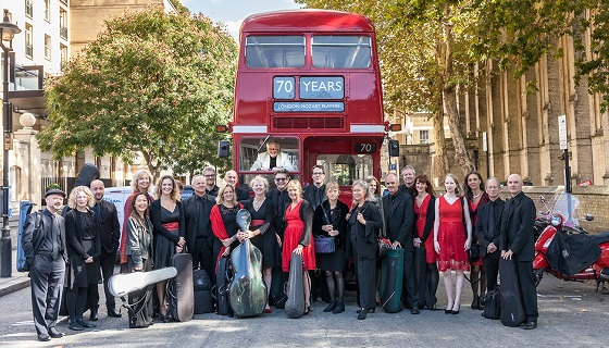 London Mozart Players bus